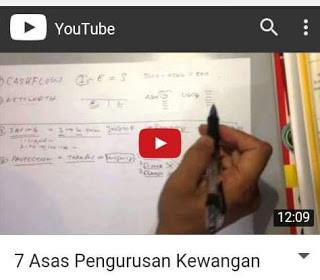 7 Asas Pengurusan Kewangan [Video]