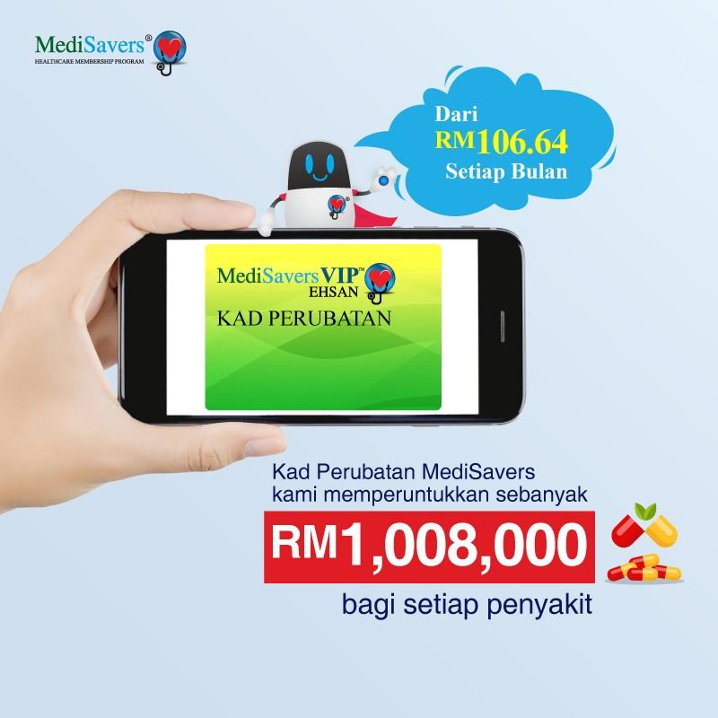medical card medisaver takaful