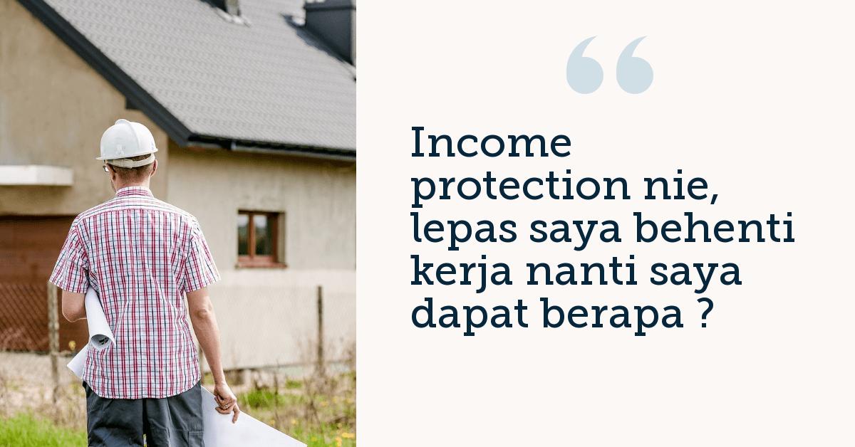 Income Protection Takaful : Salah Faham
