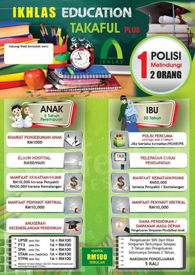 takaful pendidikan anak