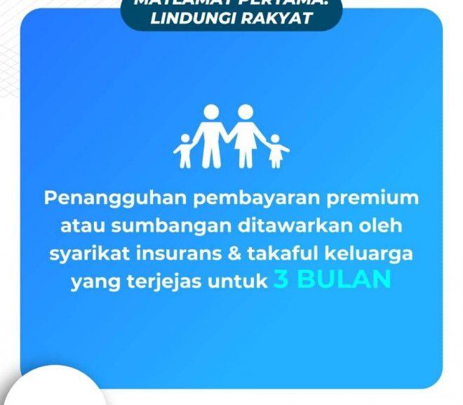 Penangguhan Pembayaran Takaful Keluarga