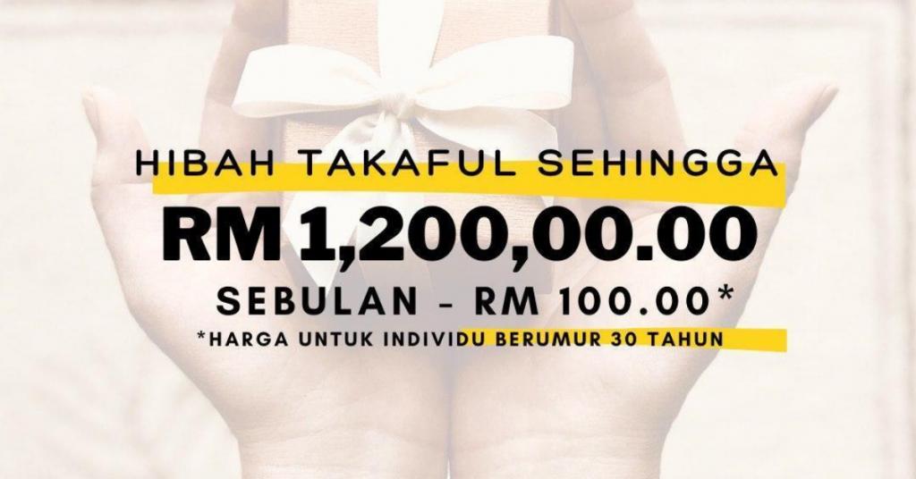 Hibah Takaful RM100