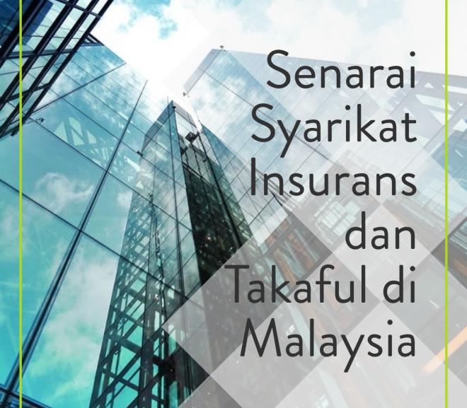 Senarai Syarikat Insurans di Malaysia dan Takaful